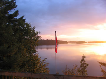 Another picture-perfect sunrise at the cottage